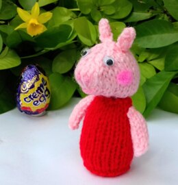 Pink Pig - Creme Egg Cover