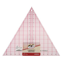 Sew Easy Quilting Ruler 60 Degree Triangle - 12 x 13.875in