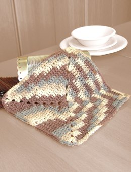 Granny Dishcloth in Bernat Handicrafter Cotton Prints