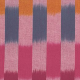 Kaffe Fassett Artisan Wovens-Ikat Stripe fabric - Red