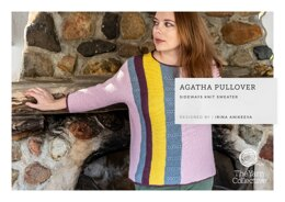 """""""Agatha Jumper by Irina Anikeeva"""" - Jumper Knitting Pattern For Women in The Yarn Collective"""
