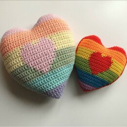 Don't Go Making My Heart - Crochet Cushion
