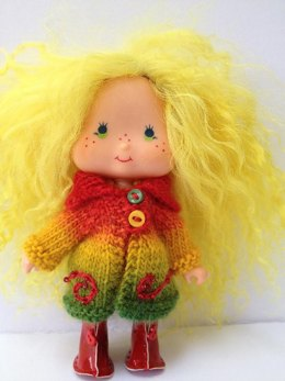 Strawberry Shortcake doll coat
