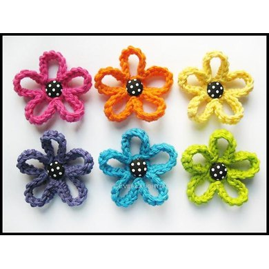 Loopy Flower Applique