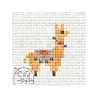 Mouseloft Quicklets - Llama Cross Stitch Kit