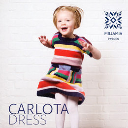 Girls' Carlota Dress in MillaMia Merino Wool