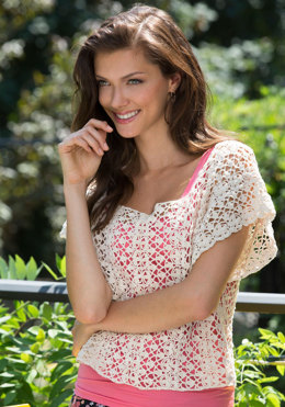 Lace Essence Top in Aunt Lydia's - LC4531 - Downloadable PDF