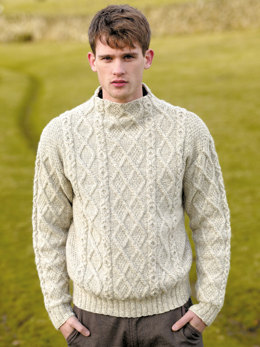 Cumbria Sweater in Rowan British Sheep Breeds DK Undyed