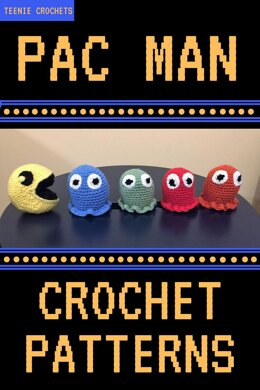 Pac Man Inspired Crochet Pattern