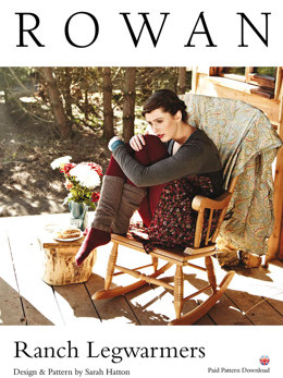Ranch Legwarmers in Rowan Kid Classic - D165 - Downloadable PDF