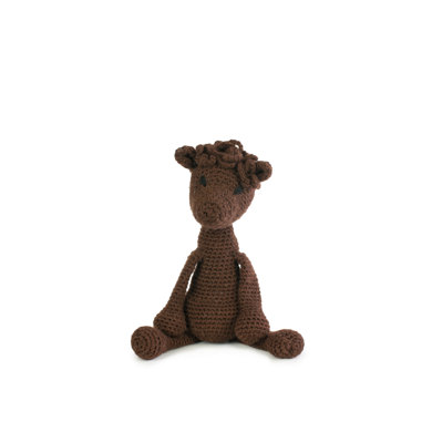 Toft Seamus The Alpaca Toy - Fudge