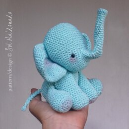 Amigurumi Elephant  toy doll