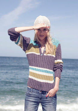 Ladies' Pullover in Austermann Whisper - 131044