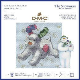 DMC The Snowdog - Stars Cross Stitch Kit