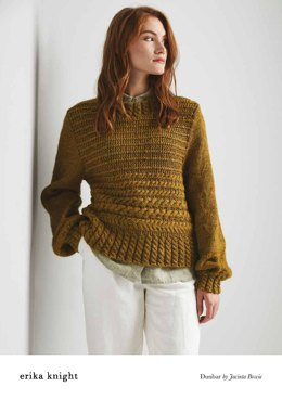 Dunbar Sweater in Erika Knight Wild Wool - 72001105 - Downloadable PDF