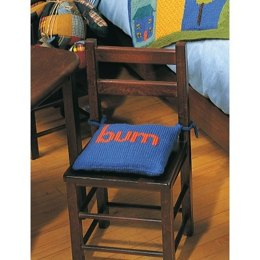 Bum Chair Cushion in Patons Canadiana