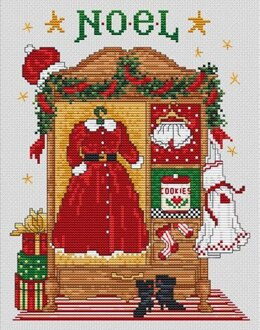 Sue Hillis Designs Mrs. Claus' Wardrobe - L703 - Leaflet