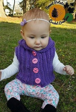 Sunkissed Hooded Vest - Baby