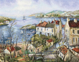 RTO Calm Town by the Sea Cross Stitch Kit