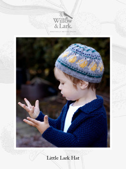 Little Lark Hat in Willow & Lark Nest - Downloadable PDF