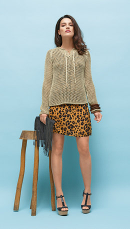 Openwork Sweater in Bergere de France Cabourg - 18 - Downloadable PDF