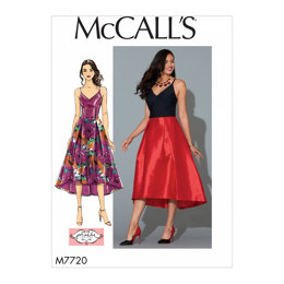 McCall's Misses' Dress M7720 - Sewing Pattern