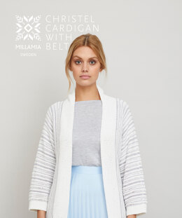 Christel Cardigan in MillaMia Naturally Soft Cotton - Downloadable PDF
