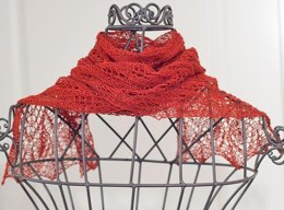 "Summer lace scarf ""Meredith"""
