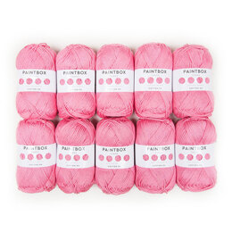 Paintbox Yarns Cotton DK 10 Ball Value Pack