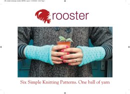 6 One Ball Patterns in Rooster Almerino DK - Downloadable PDF