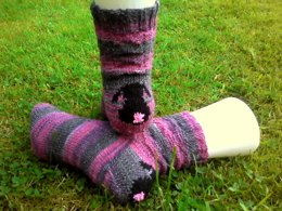 Awoos Mums Bunny Surprise 4ply Socks