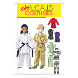 McCall's Children's/Boys'/Girls' Costumes M6184 - Sewing Pattern