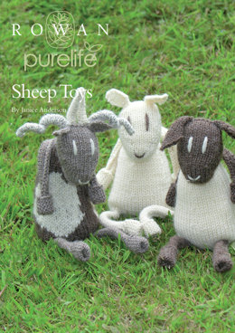 Sheep Toys in Rowan British Sheep Breeds DK Undyed