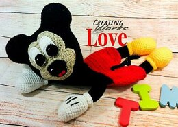 Mickey Mouse Ragdoll