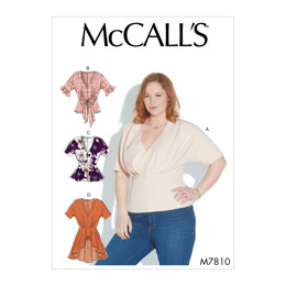 McCall's Misses' Tops M7810 - Sewing Pattern