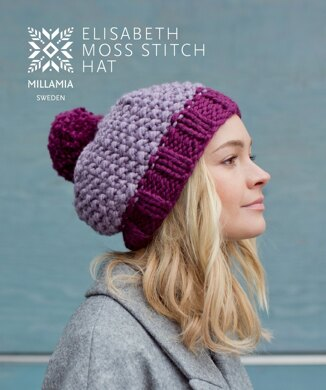 1ffe82ac2b395 Elisabeth Moss Hat in MillaMia Naturally Soft Super Chunky - Downloadable  PDF