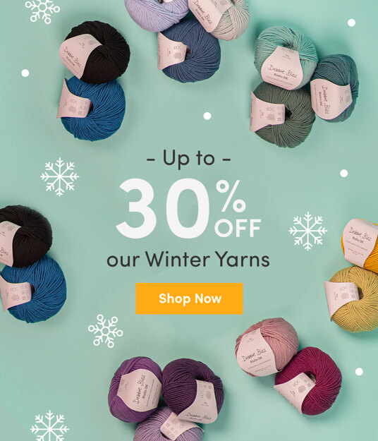 Up to 30 percent off winter yarns