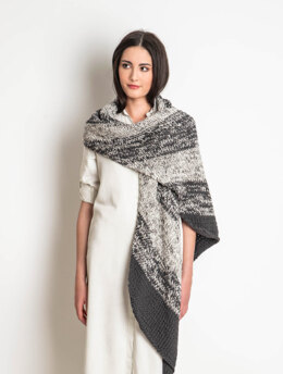 Worthington Wrap in Blue Sky Fibers Worsted Cotton and Worsted Cotton Printed  - 202013 - Downloadable PDF