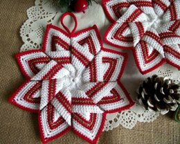 Christmas Star Pot Holder