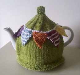 Summer Bunting Tea Cosy