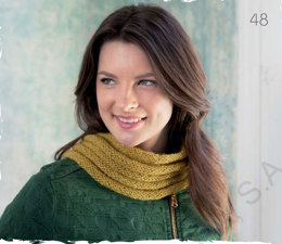 Snood Scarf in Katia Royal Silk