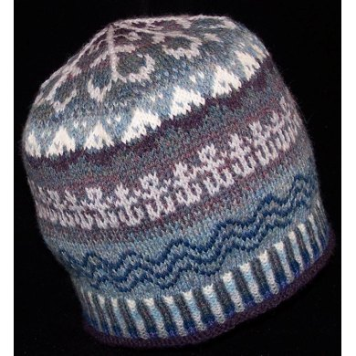 """""""While the Billows Roll"""" Anchor Hat"""