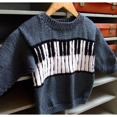 The Piano Sweater