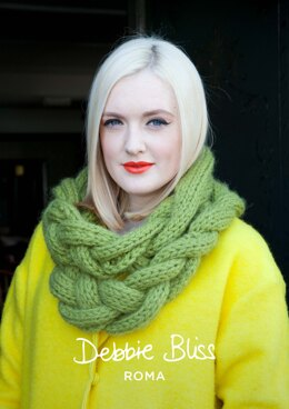 Caitlin Cowl in Debbie Bliss Roma - DBS018 - Downloadable PDF