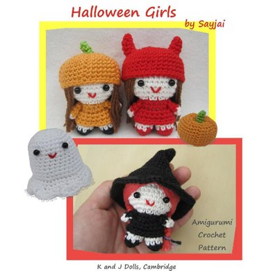 Halloween Girls PDF Amigurumi crochet pattern
