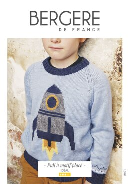 Boy Sweater in Bergere de France Ideal - M1171 - Downloadable PDF