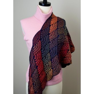 Dragon Wing Shawl Knitting Pattern By Jojoland