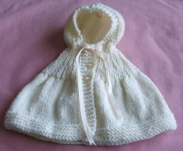 Hooded Cape for Doll or Teddy Bear