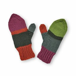 Find A Match Mittens in Caron x Pantone - Downloadable PDF