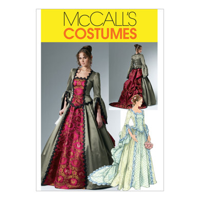 McCall's Misses' Victorian Costume M6097 - Sewing Pattern